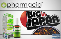 30ml BIG IN JAPAN 9mg eLiquid (With Nicotine, Medium) image 1