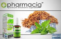 30ml TOBACCO & MINT 9mg eLiquid (With Nicotine, Medium) image 1