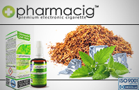 30ml TOBACCO & MINT 18mg eLiquid (With Nicotine, Strong) image 1