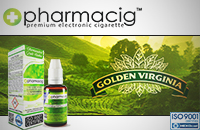 30ml GOLDEN TOBACCO 0mg eLiquid (Without Nicotine) image 1