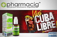 30ml CUBA LIBRE 9mg eLiquid (With Nicotine, Medium) image 1