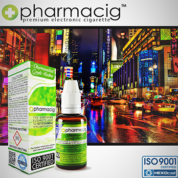 30ml NEW YORK CITY 18mg eLiquid (With Nicotine, Strong)
