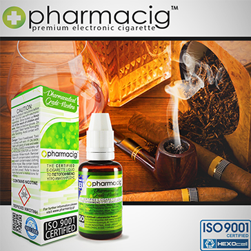 30ml TOBACCO & COGNAC 0mg eLiquid (Without Nicotine)
