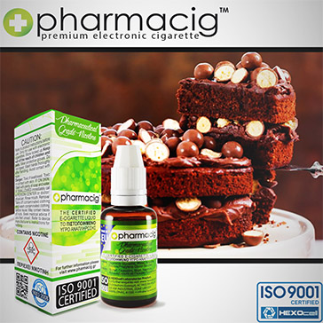 30ml CHOCOLATE CAKE 18mg eLiquid (With Nicotine, Strong)