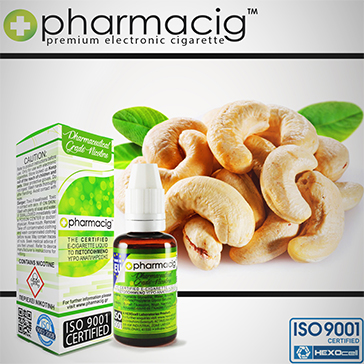 30ml CASHEW NUT 18mg eLiquid (With Nicotine, Strong)