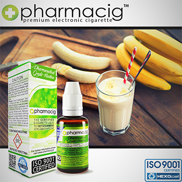 30ml BANANAVILLE 18mg eLiquid (With Nicotine, Strong)