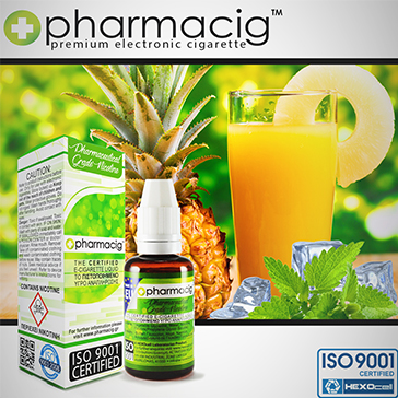 30ml ICY PINEAPPLE 18mg eLiquid (With Nicotine, Strong)